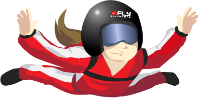 ifly singapore experience the thrill of indoor skydiving high five clip art pic high five clip art pic